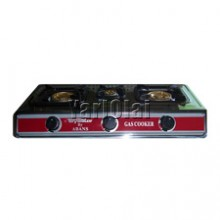Toyostar Three Burner Gas Cooker - TG-300