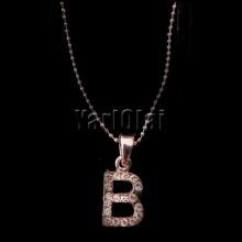 Letter 'B' Pendant