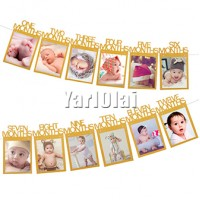 12 Months Photo Frame
