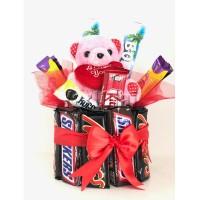 Sweet Chocolates With Teddy
